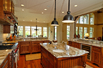 Rustic Home Plan Kitchen Photo 01 - Humphrey Creek Rustic Home 082S-0002 | House Plans and More