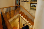 Rustic Home Plan Stairs Photo - Humphrey Creek Rustic Home 082S-0002 | House Plans and More