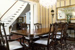 Country French House Plan Dining Room Photo 01 - Avanti Acadian Country Home 082S-0003   House Plans and More