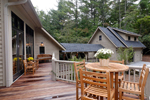 Vacation House Plan Deck Photo 01 - Hunnewell Point Rustic Home 082S-0004 | House Plans and More