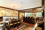 Vacation House Plan Dining Room Photo 01 - Hunnewell Point Rustic Home 082S-0004 | House Plans and More