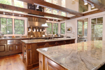 Vacation House Plan Kitchen Photo 01 - Hunnewell Point Rustic Home 082S-0004 | House Plans and More