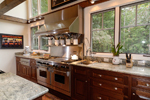 Vacation House Plan Kitchen Photo 02 - Hunnewell Point Rustic Home 082S-0004 | House Plans and More