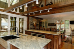 Vacation House Plan Kitchen Photo 03 - Hunnewell Point Rustic Home 082S-0004 | House Plans and More