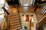 Vacation House Plan Stairs Photo 03 - Hunnewell Point Rustic Home 082S-0004 | House Plans and More