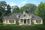 European House Plan Front of House 084D-0075