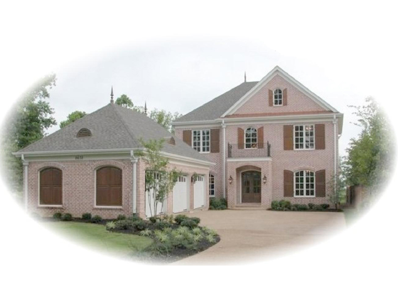 Bayou Sorrel Country French Home Plan 087S-0066   House ... on house plans with rear entry garage, house plans with interior entry garage, house with garage on side, house plans with front screened porch, house plans with front living room, house plans with back entry garage, house plans with front fireplace,