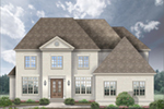 European House Plan Front of House 087S-0336