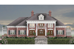 Traditional House Plan Front of House 087S-0341