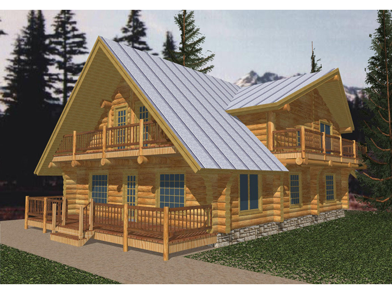Corwood Rustic Lake Home Plan 088D-0031 | House Plans and More on two story house plans with walkout, lake house plans with lookout, lake house plans with porch,