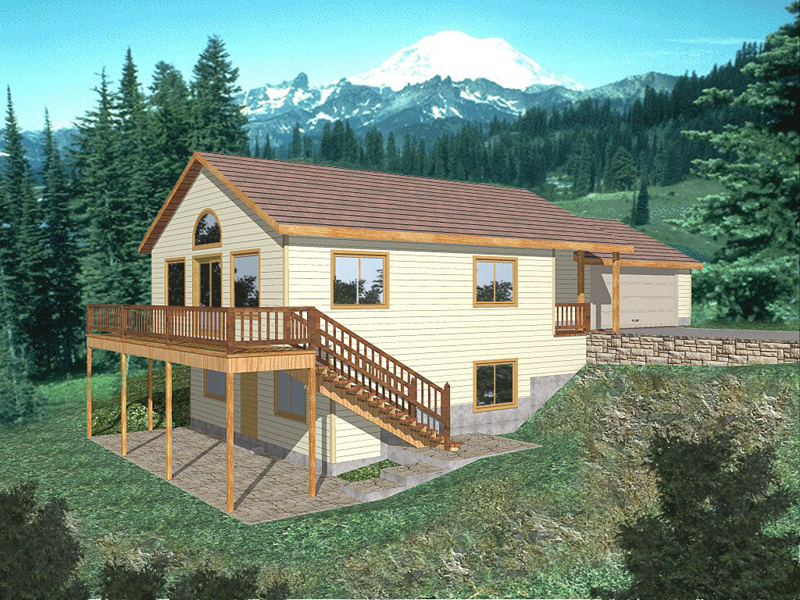 Childers Terrace Vacation Home Plan 088D-0172 | House Plans ... on ranch with porch, ranch with apartment, ranch with garage, ranch with daylight, ranch with basement, ranch with waterfall, ranch with deck,