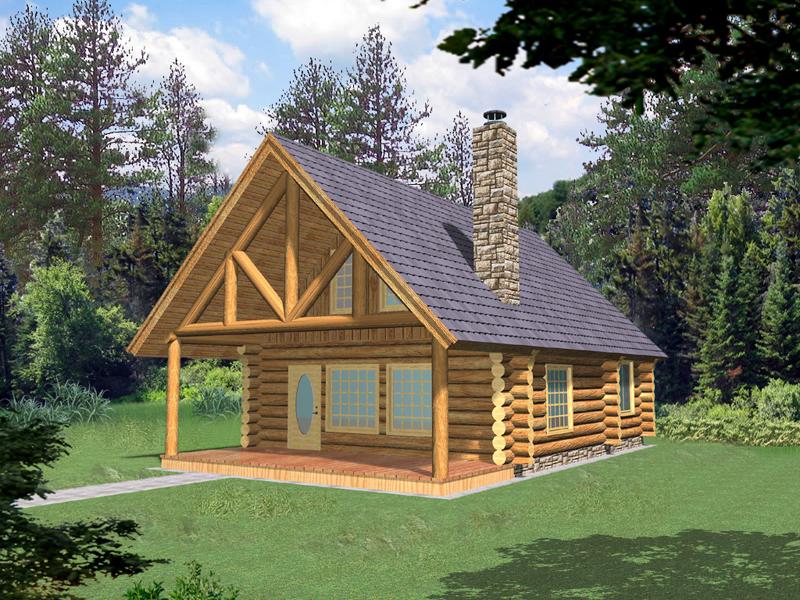 Superb Frisco Pass Log Cabin Home Plan 088D 0355 House Plans And More Beutiful Home Inspiration Xortanetmahrainfo