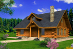 Front of Home -  088D-0401 | House Plans and More