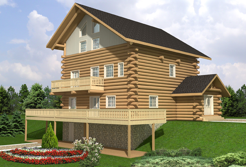 Front of Home -  088D-0403 | House Plans and More