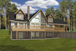Front of Home -  088D-0411   House Plans and More