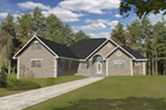 Front of Home -  088D-0413 | House Plans and More