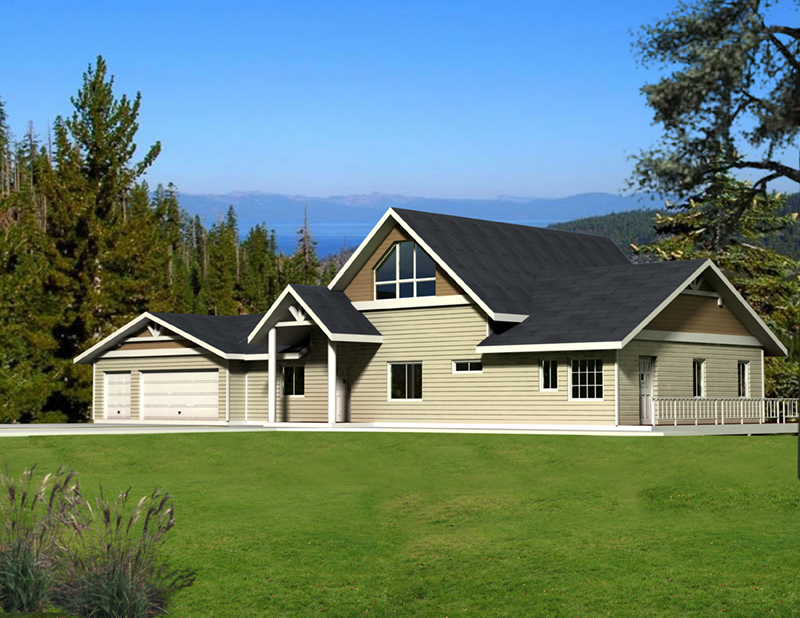 Front of Home -  088D-0415 | House Plans and More
