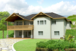 Country House Plan Front of Home -  088D-0424 | House Plans and More