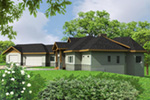 Rustic Home Plan Front Photo 01 -  088D-0425 | House Plans and More