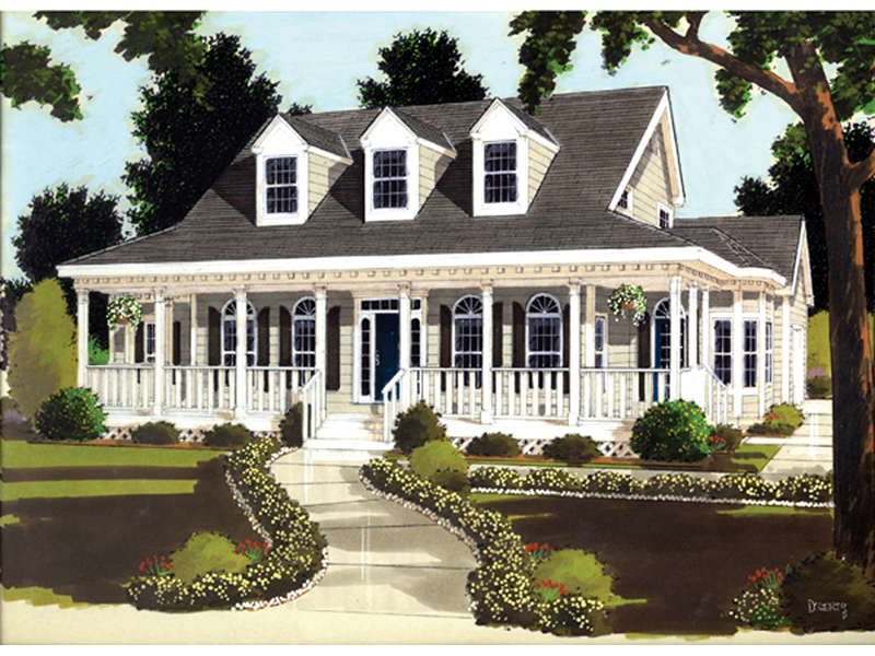 Farson Southern Plantation Home Plan