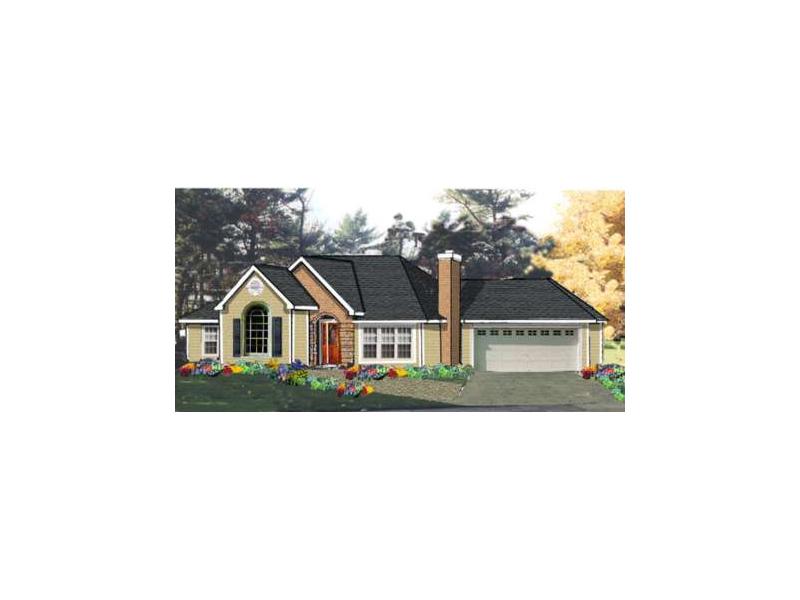 Striking Ranch Home Has Subtle Craftsman Details
