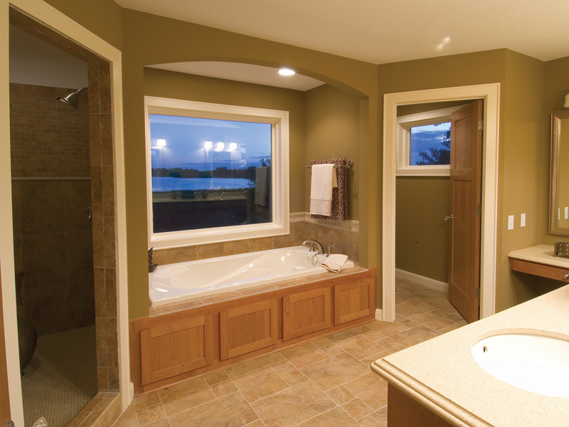 Craftsman House Plan Bathroom Photo 01 - Neema Luxury Arcadian Home 091D-0021 | House Plans and More