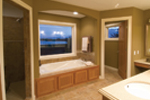 Traditional House Plan Bathroom Photo 01 - Neema Luxury Arcadian Home 091D-0021   House Plans and More