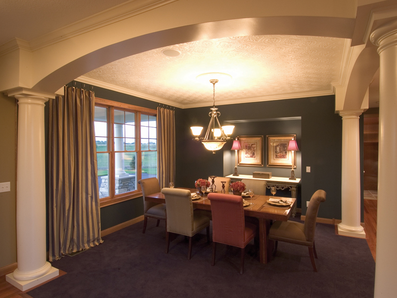Traditional House Plan Dining Room Photo 01 - Neema Luxury Arcadian Home 091D-0021   House Plans and More