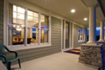 Traditional House Plan Front Porch Photo - Neema Luxury Arcadian Home 091D-0021   House Plans and More