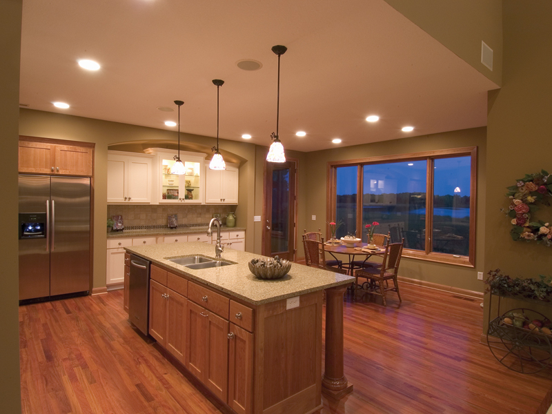 Craftsman House Plan Kitchen Photo 02 - Neema Luxury Arcadian Home 091D-0021 | House Plans and More