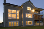 Craftsman House Plan Rear Photo 01 - Neema Luxury Arcadian Home 091D-0021 | House Plans and More