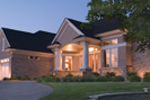 Country House Plan Front Photo 03 - Childers Hill Sunbelt Home 091D-0028 | House Plans and More