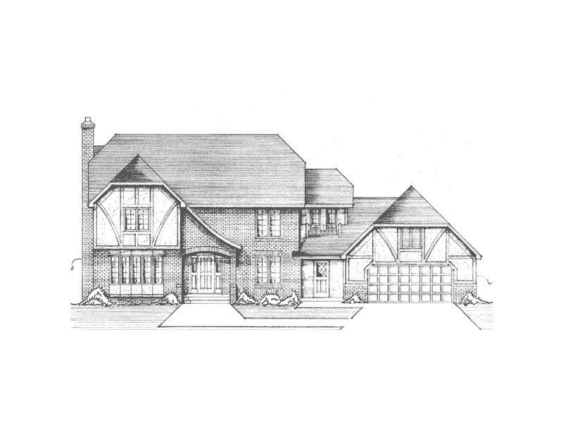 High Farm English Tudor Home Plan 091d 0249 House Plans And More