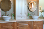 Arts & Crafts House Plan Bathroom Photo 01 - Price Meadow Country French 091D-0470 | House Plans and More