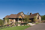 European Style Ranch With Rustic Exterior