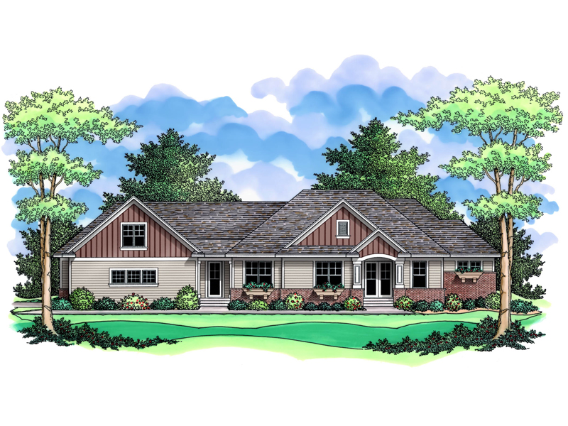 Wallen Creek Tudor Home Plan 091D-0490   House Plans and More on arts and crafts post and beam, arts and crafts bungalow home plans, arts and crafts carriage house, arts and crafts small house plans,