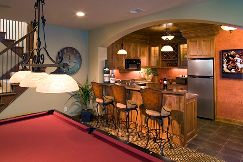 Luxury House Plan Bar Photo - Shenandoah Heights Luxury Home 091S-0001 | House Plans and More