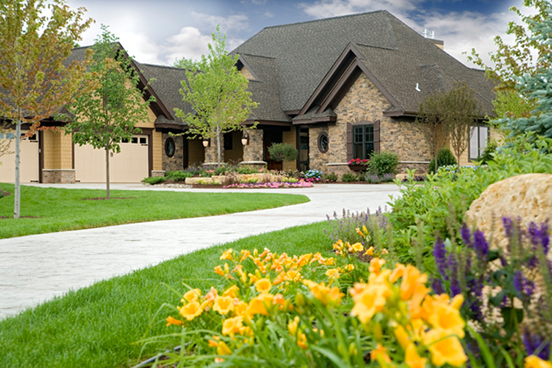 Luxury House Plan Front of Home - Shenandoah Heights Luxury Home 091S-0001 | House Plans and More