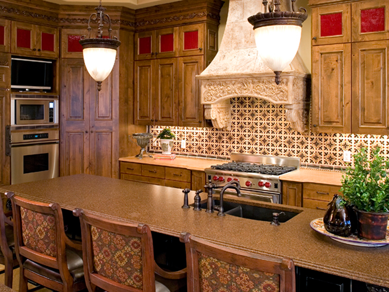 Luxury House Plan Kitchen Photo 01 - Shenandoah Heights Luxury Home 091S-0001 | House Plans and More