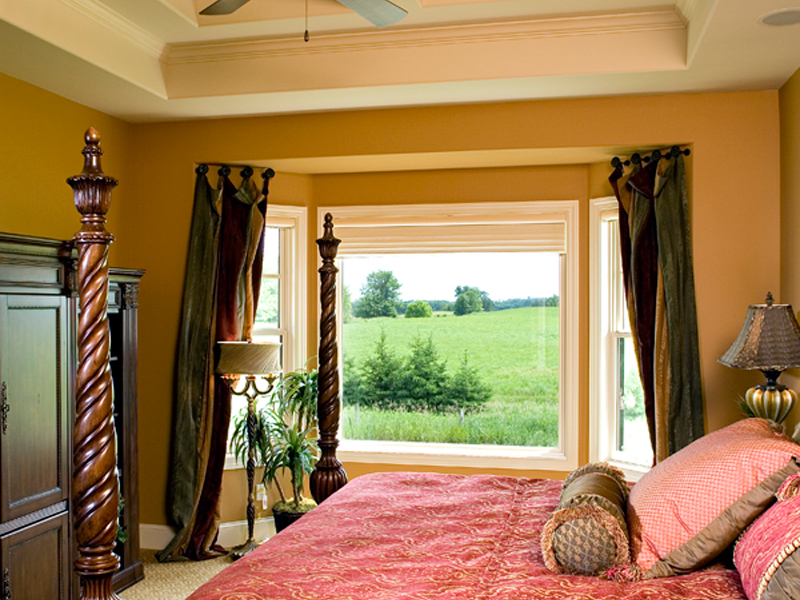 Luxury House Plan Master Bedroom Photo 01 - Shenandoah Heights Luxury Home 091S-0001 | House Plans and More