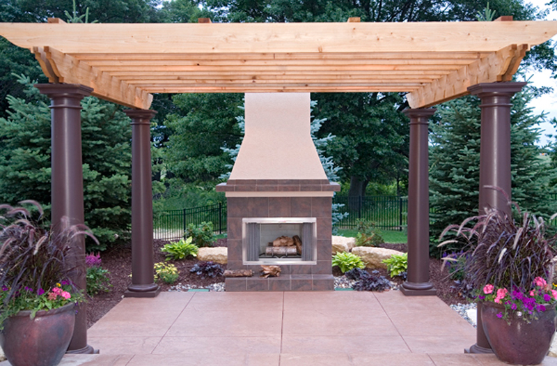 Luxury House Plan Outdoor Living Photo 02 - Shenandoah Heights Luxury Home 091S-0001 | House Plans and More
