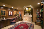 Luxury House Plan Prayer Room Photo - Shenandoah Heights Luxury Home 091S-0001 | House Plans and More
