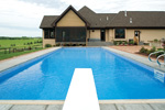Luxury House Plan Rear Photo 02 - Shenandoah Heights Luxury Home 091S-0001 | House Plans and More