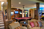 Luxury House Plan Recreation Room Photo 01 - Shenandoah Heights Luxury Home 091S-0001 | House Plans and More