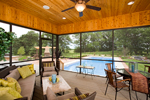 Luxury House Plan Screened Porch Photo 01 - Shenandoah Heights Luxury Home 091S-0001 | House Plans and More