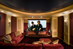 Luxury House Plan Theater Room Photo 01 - Shenandoah Heights Luxury Home 091S-0001 | House Plans and More