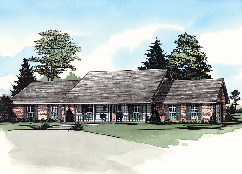 Bilderback Traditional Home Plan 092D-0162 | House Plans and ... on brick barn plans, victorian house plans, brick plantation house plans, brick and stone one story house, brick house plans with bonus room, brick prairie style house plans, full brick house plans, brick one story house plans, traditional house plans, brick house with stone entry, brick a frame house plans, colonial house plans, country house plans, brick carriage house plans, contemporary house plans, screened porch house plans, old southern style house plans, small brick house plans, luxury ranch home plans, complete set of house plans,