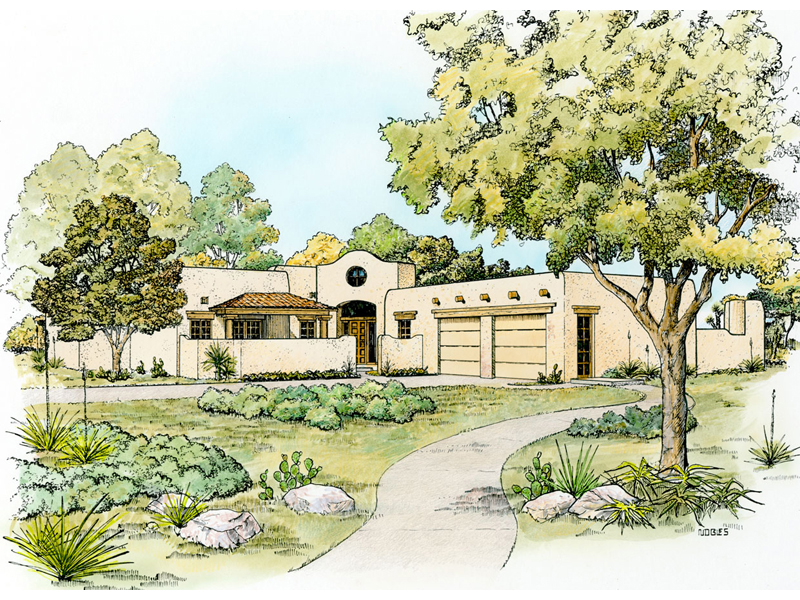 Bosswood Southwestern Style Home Plan 095D-0044 | House ... on southwestern themed living room, southwestern turquoise home decor, southwestern wall decor ideas,