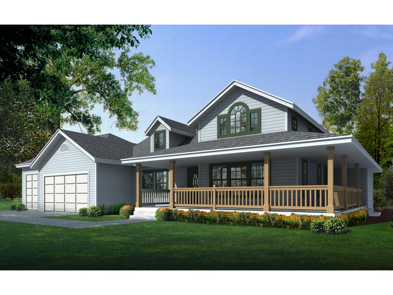 Crispin Rustic Country Home Plan 096D-0051 | House Plans and ... on