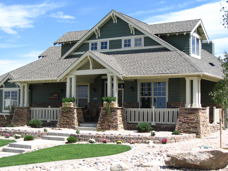 Femme Osage Craftsman Home Plan 101D-0020 | House Plans and More on